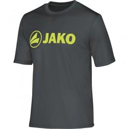 JAKO Мужская функциональная рубашка Promo антрацит-лайм