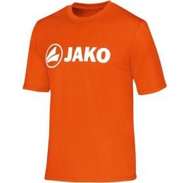 JAKO Мужская функциональная рубашка Promo неоновый оранжевый