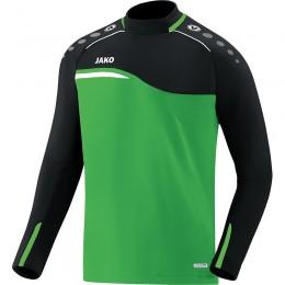 JAKO Men's Sweat Competition 2.0 мягкий зелено-черный