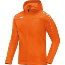 JAKO Куртка мужская с капюшоном Classico неоновый оранжевый