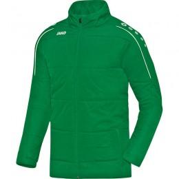 Куртка для тренера JAKO Classico sport, цвет зеленый