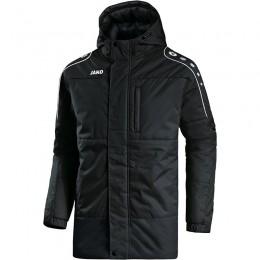 JAKO Мужская спортивная куртка Active черно-белая