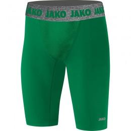 JAKO Men Short Tight Compression 2.0 спортивный зеленый