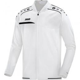 JAKO мужская клубная куртка Prestige бело-черный