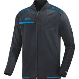 JAKO Мужская клубная куртка Престиж антрацит-ЯКО синий