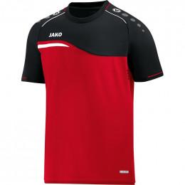 JAKO Kids T-Shirt Competition 2.0 красно-черный