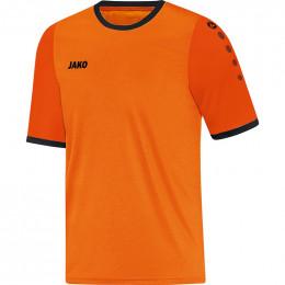 JAKO Kids Jersey Leeds KA неоновый оранжево-оранжево-черный