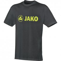 JAKO Kids T-Shirt Promo антрацит-лайм (темнее)