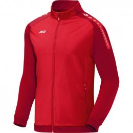 JAKO детская куртка из полиэстера Champ красно-темно-красная