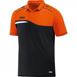 JAKO Kids Polo Competition 2.0 черно-неоновый оранжевый