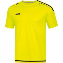 JAKO Kids Jersey Striker 2.0 KA неоновый желто-черный