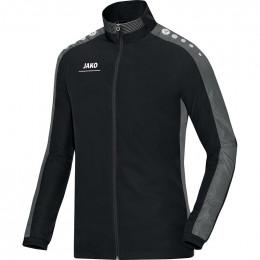JAKO Kids Презентационная куртка Striker черно-серая