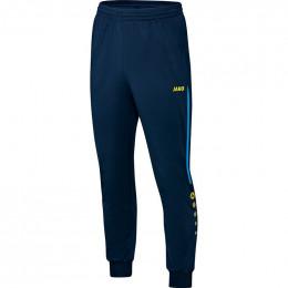 JAKO детские полиэфирные брюки Champ темно-синий JAKO сине-неоновый желтый