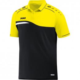 JAKO Kids Polo Competition 2.0 черно-неоновый желтый