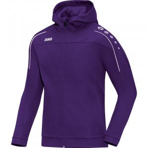 JAKO Kids Куртка с капюшоном Classico фиолетового цвета