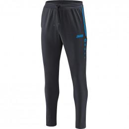Детские тренировочные брюки JAKO Престиж антрацит-ЯКО синий