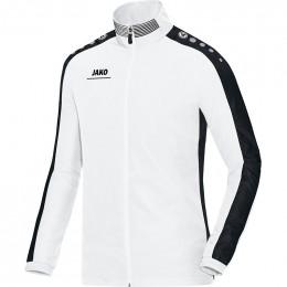JAKO Kids Презентационная куртка Striker бело-черная