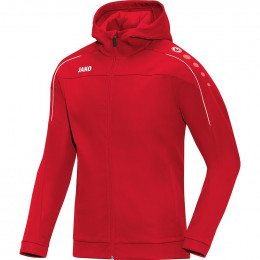 JAKO Kids Куртка с капюшоном Classico, красная