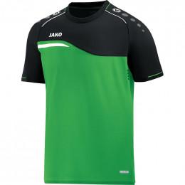 JAKO Kids T-Shirt Competition 2.0 мягкая зелено-черная