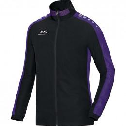 JAKO Kids Презентационная куртка Striker черно-фиолетовая