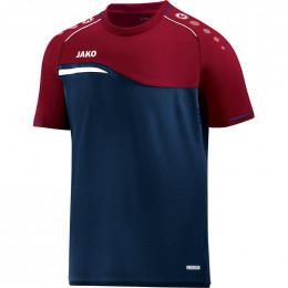 JAKO Kids T-Shirt Competition 2.0 темно-темно-красный