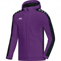 JAKO Kids куртка с капюшоном Striker пурпурно-черный