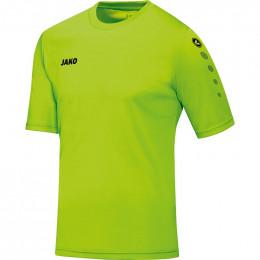 JAKO детская футболка команды KA неоновый зеленый