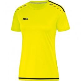 JAKO Jersey Striker 2.0 KA Дамы неоновые желто-черные