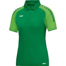 JAKO Ladies Polo Champ спорт зелено-мягкий зеленый