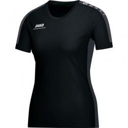 JAKO Ladies T-Shirt Striker черно-серый