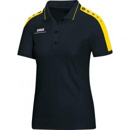 JAKO Ladies Polo Striker, цвет черный-ситро