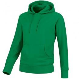 JAKO Женская спортивная команда с капюшоном, цвет зеленый