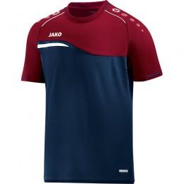 JAKO Ladies T-Shirt Competition 2.0 темно-темно-красный