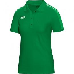 JAKO Ladies Polo Striker, спортивный зеленый