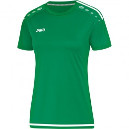 JAKO Ladies Jersey Striker 2.0 KA Ladies спортивный зелено-белый