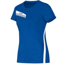 Женская футболка JAKO Athletico королевско-белая