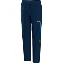 JAKO женские презентационные брюки Champ Navy-JAKO сине-неоновые желтые