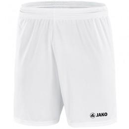 JAKO женские спортивные брюки Manchester с логотипом JAKO, без внутренней накладки, белый