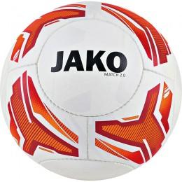 JAKO Lightball Match 2.0 HS, 14 P бело-неоновый оранжевый-красный-290г