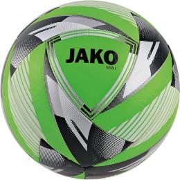 JAKO Miniball неоновый зелено-серебристый