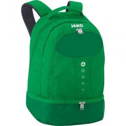 JAKO Backpack Striker с нижним отделением спорт зеленый