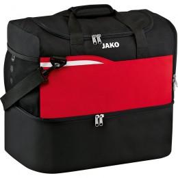 JAKO Competition 2.0 сумка для соревнований с нижним отделением черно-красный