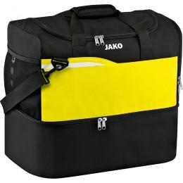 JAKO Sports Bag Competition 2.0 с нижним отделением черно-неоновый желтый