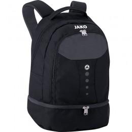 JAKO Backpack Striker с нижним отделением черно-серый
