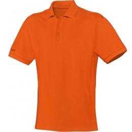 JAKO Men Polo Team Неоновый оранжевый