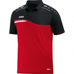 JAKO Men Polo Competition 2.0 красно-черный
