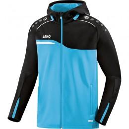 JAKO Ladies Hooded Jacket Competition 2.0 aqua-black