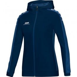 JAKO Ladies Hooded Jacket Striker темно-синий
