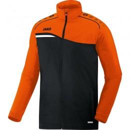 JAKO Kids All Weather Jacket Competition 2.0 черный-неоновый оранжевый