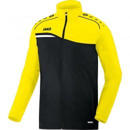 JAKO Kids All Weather Jacket Competition 2.0 черный-неоновый желтый